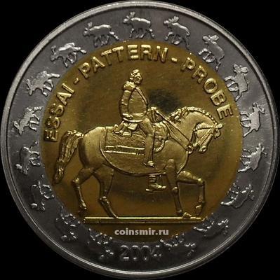 2 евро 2004 Норвегия. Европроба. Ceros.