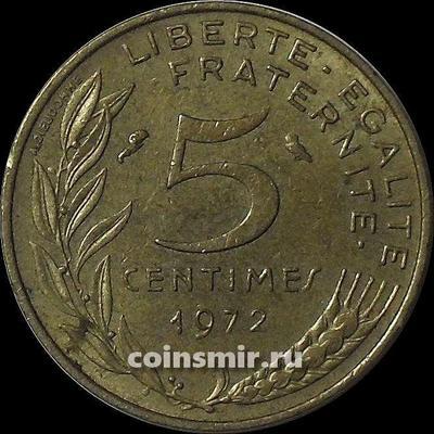 5 сантимов 1972 Франция.