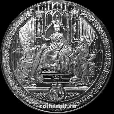 2 фунта 2019 Южная Георгия и Южные Сандвичевы острова.  Королева Виктория на троне.