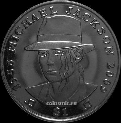 1 доллар 2009 Сьерра-Леоне. Майкл Джексон.