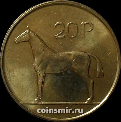 20 пенсов 1998 Ирландия. Лошадь.