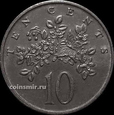 10 центов 1988 Ямайка.
