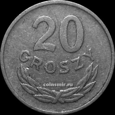 20 грошей 1966 Польша.