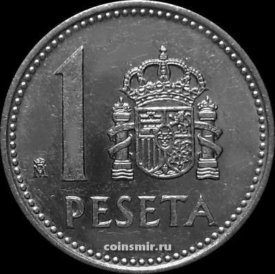 1 песета 1989 Испания.