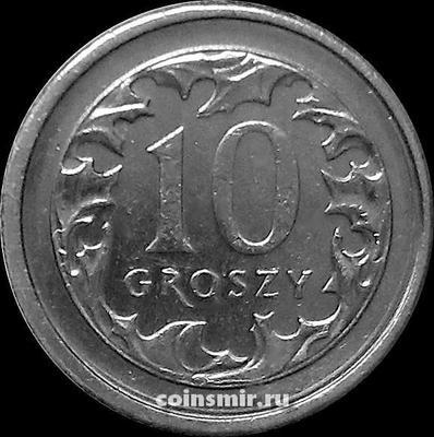 10 грошей 2010 Польша.
