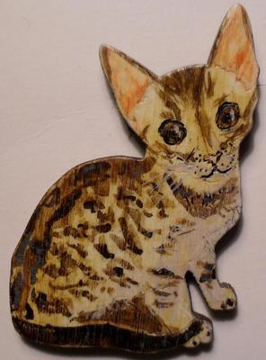 Значок Котёнок.