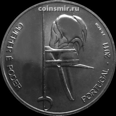 2,5 евро 2011 Португалия. 100 лет Институту военного обучения.
