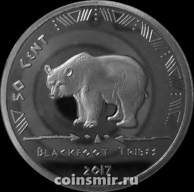 50 центов 2017 Племя Черноногих (Блэкфут).