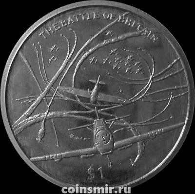 1 доллар 2005 Сьерра Леоне. 60 лет окончания Второй Мировой войны. Битва за Британию.