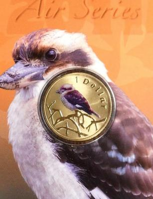 1 доллар 2011 Австралия. Кукабара.