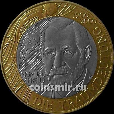 50 шиллингов 2000 Австрия. Зигмунд Фрейд.