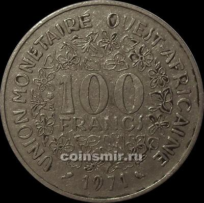 100 франков 1971  КФА BCEAO (Западная Африка).