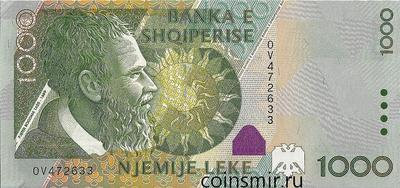 1000 лек 2001 Албания.