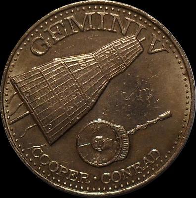 Жетон Gemini-V 1965.