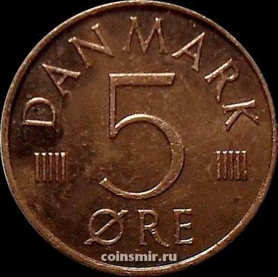 5 эре 1984 R;B Дания.