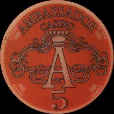 Фишка казино Амбассадор в 5 у.е.