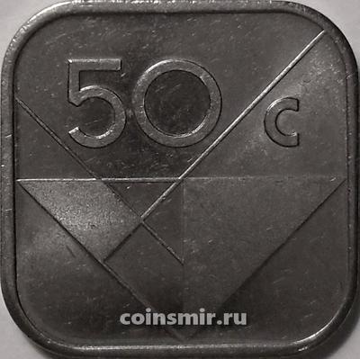 50 центов 1997 Аруба.
