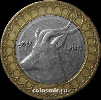 50 динар 1992 Алжир. Газель.