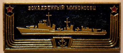 Значок Эскадренный миноносец.