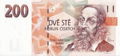 200 крон 1998 Чехия.