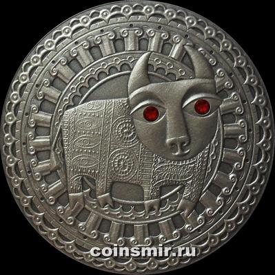 20 рублей 2009 Беларусь. Телец.