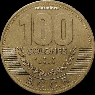 100 колонов 2000 Коста-Рика.