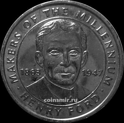 Жетон Генри Форд 1863 -1947. Миллениум 2000.