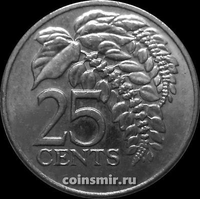 25 центов 2003 Тринидад и Тобаго.