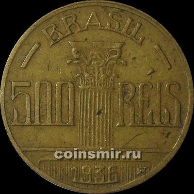 500 рейс 1936 Бразилия.