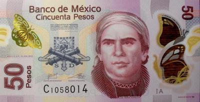 50 песо 2012 Мексика.