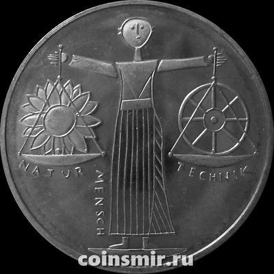 10 марок 2000 A Германия (ФРГ). Всемирная выставка в Ганновере. Expo 2000.