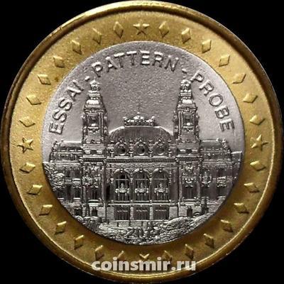 1 евро 2015 Монако. Европроба. Xeros.