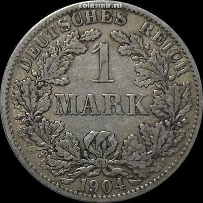 1 марка 1904 А Германия.