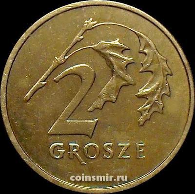 2 гроша 2002 Польша.