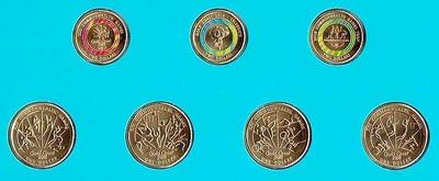 Набор из 7 монет 2018 Австралия. XXII Игры Содружества.