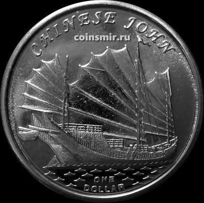 1 доллар 2019 острова Гилберта. CHINESE JOHN.