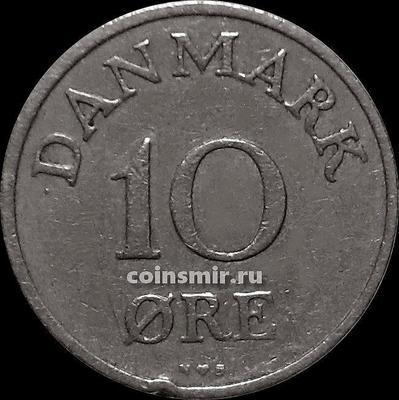10 эре 1953 N;S Дания.