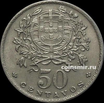 50 сентаво 1968 Португалия.
