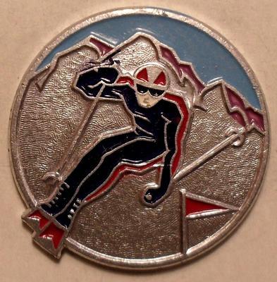 Значок Слалом (горнолыжный спорт).