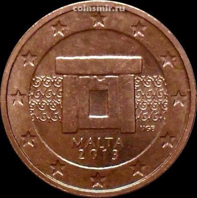 2 евроцента 2013 Мальта.