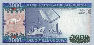 2000 угий 2011 Мавритания.