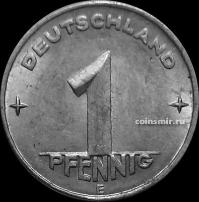 1 пфенниг 1949 Е Германия ГДР. VF