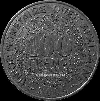 100 франков 2004  КФА BCEAO (Западная Африка).