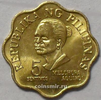 5 сентимо 1975 Филиппины.