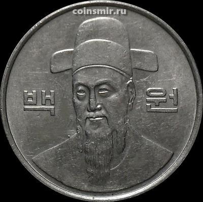 100 вон 1987 Южная Корея.