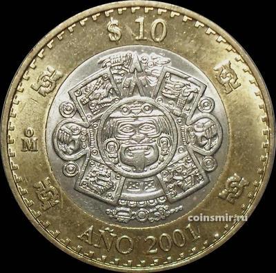 10 песо 2001 Мексика.
