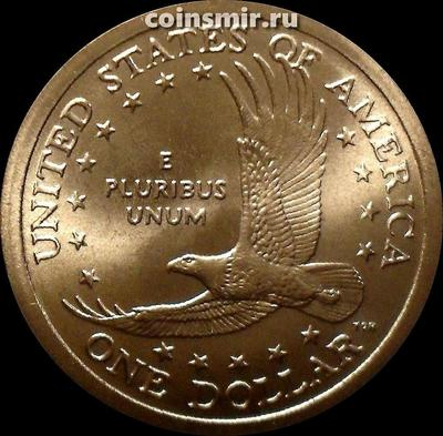 1 доллар 2005 D США. Парящий орел.
