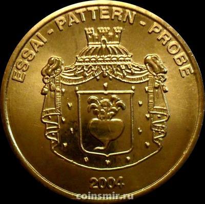 50 евроцентов 2004 Лихтенштейн. Европроба. Ceros.