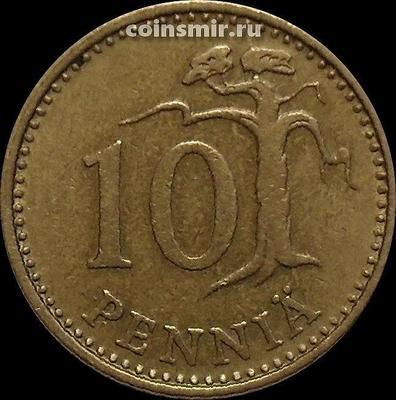 10 пенни 1964 S Финляндия.