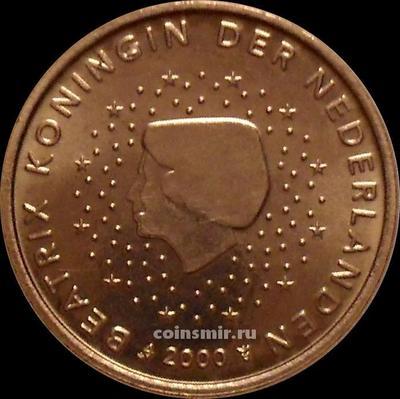 5 евроцентов 2000 Нидерланды. Беатрикс.